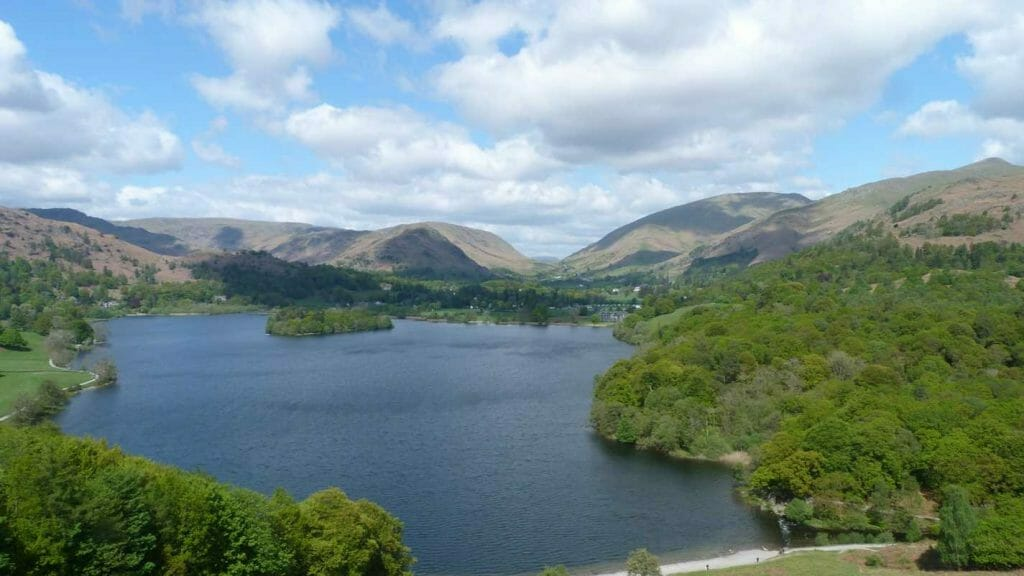 View over Rydal Water
