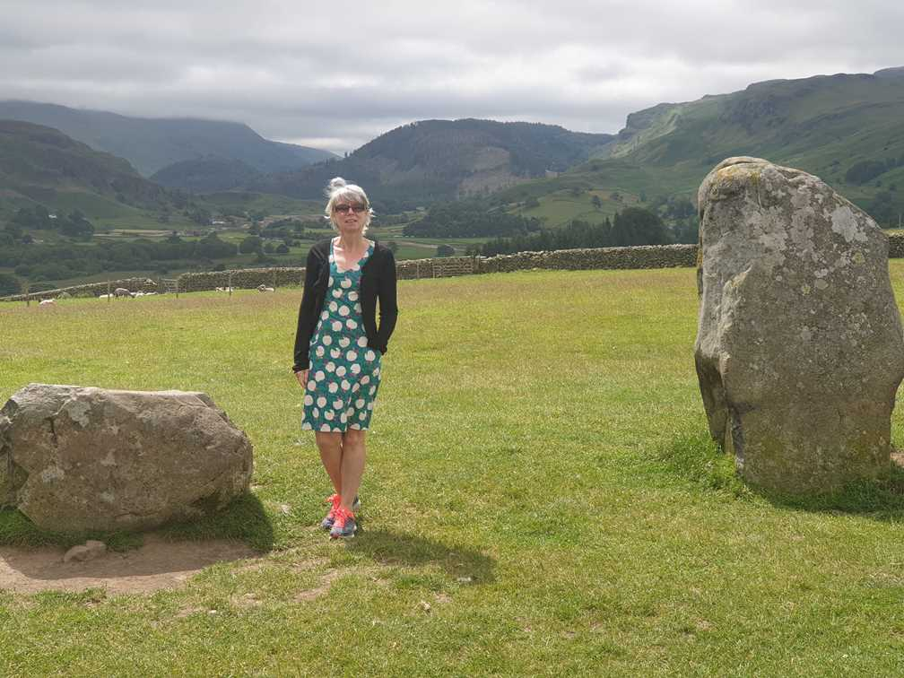 The view from Castlerigg Stone Circle