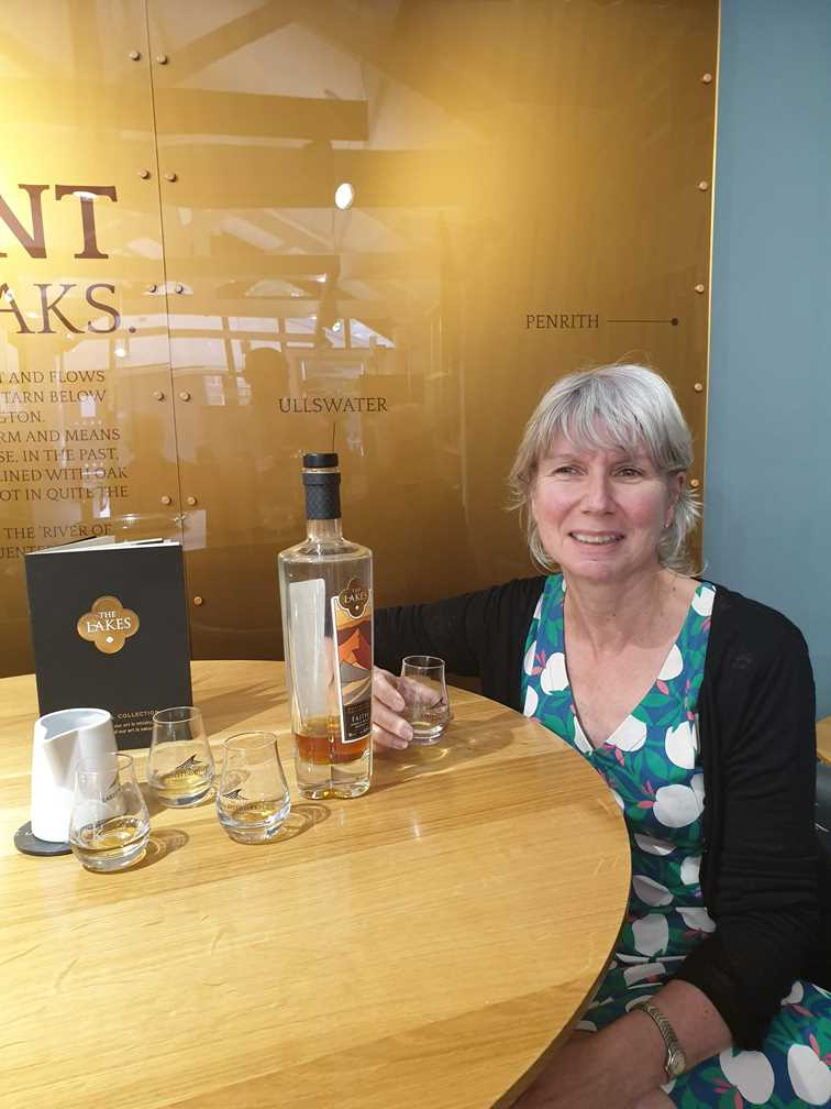 Whisky tasting on One Day in Keswick