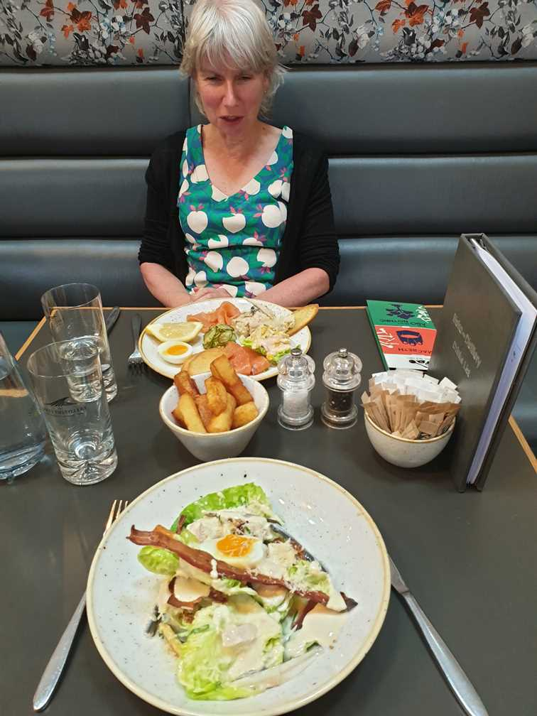 Eating at the Lakes Distillery on One day in Keswick