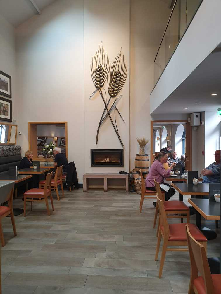 The restaurant at the Lakes Distillery