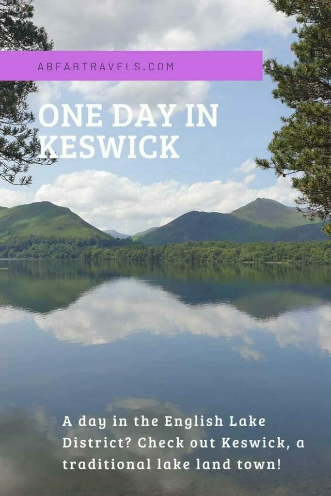Pin image for One Day in Keswick