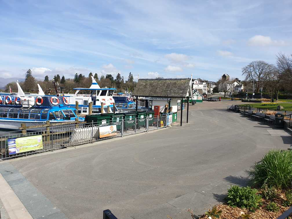 The middle of Bowness in the year of Covid
