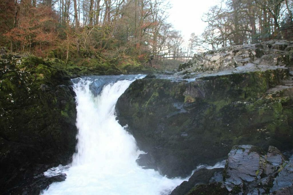 Skelwith Force in the Lake District