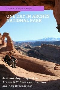 Pin for One Day in Arches National Park