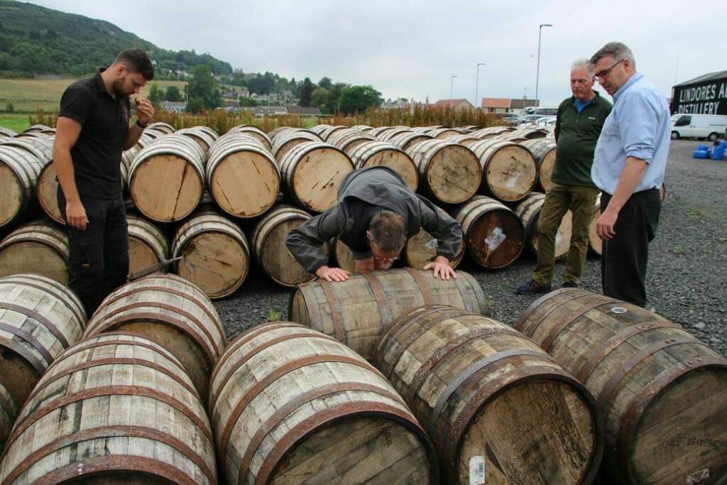 Smelling the barrel