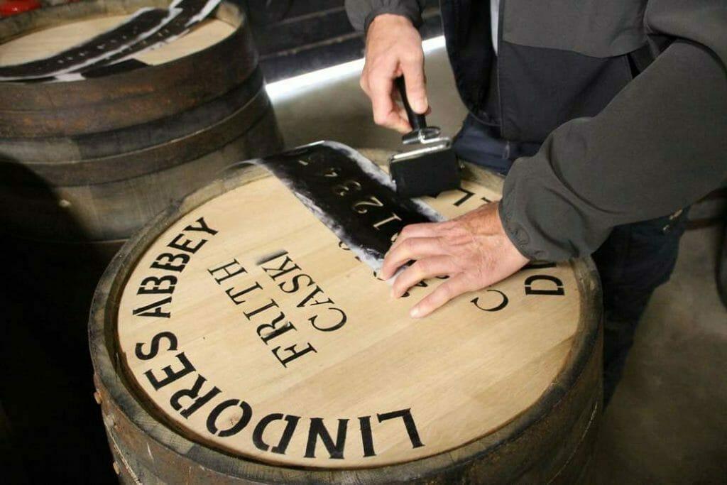 Stencilling the barrel