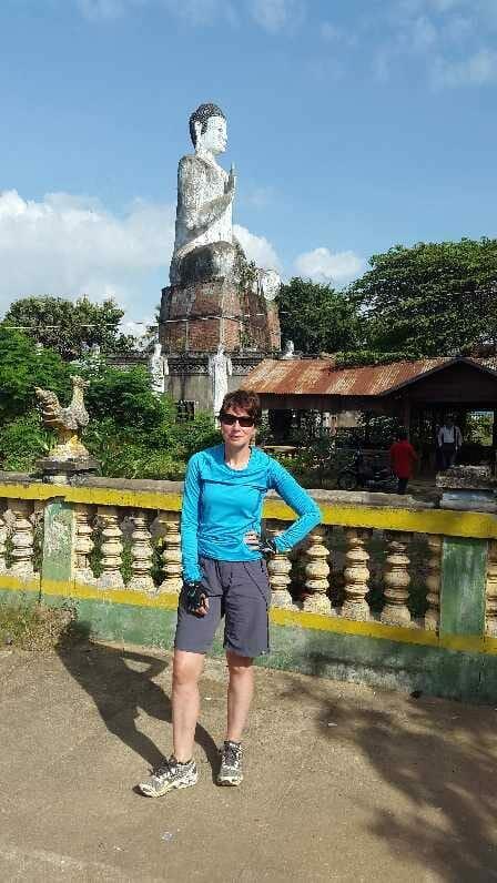 The Buddha at Wat Ek Phnom
