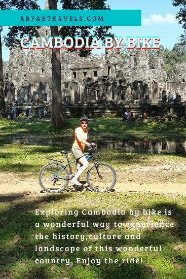 Pin for Cambodia by bike