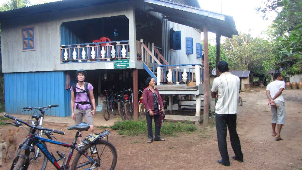 Our home stay in Chi Phat