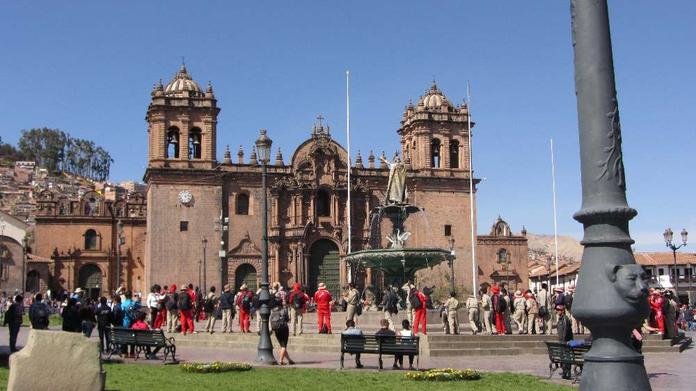 Cusco central area