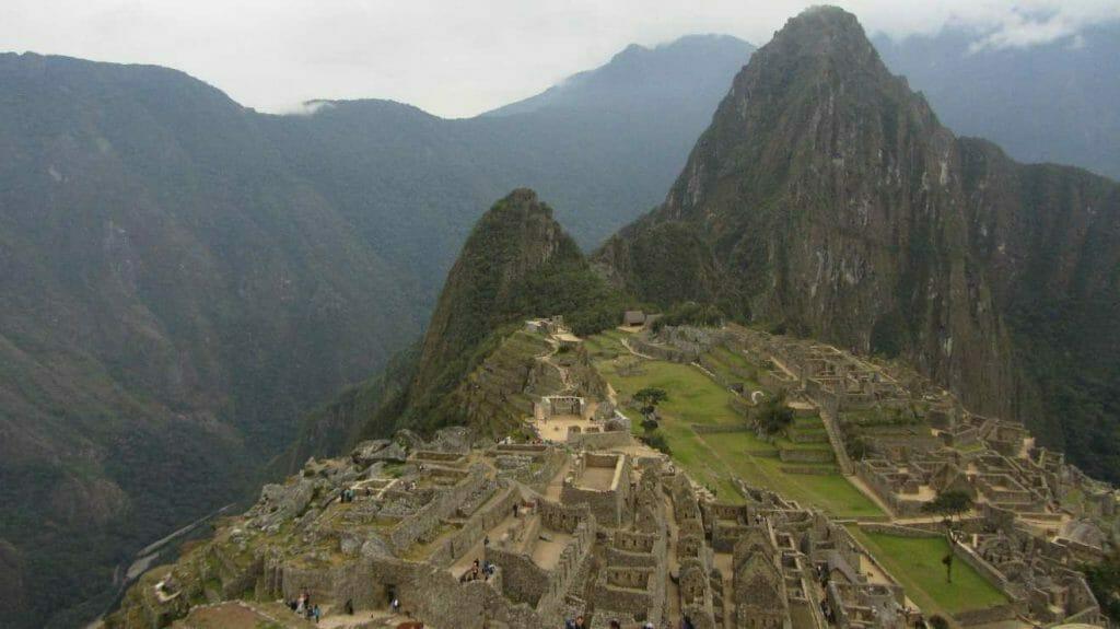 Overview of Machu Picchu