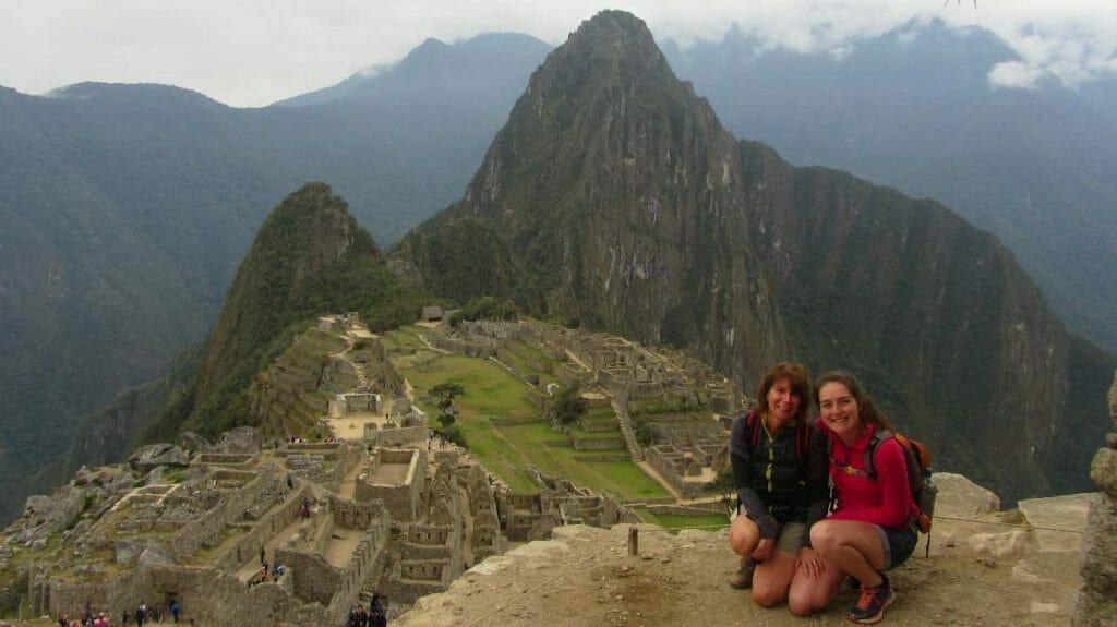 Hiking in Peru at Machu Picchu