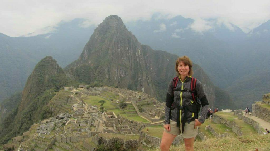 Jane at Machu Picchu