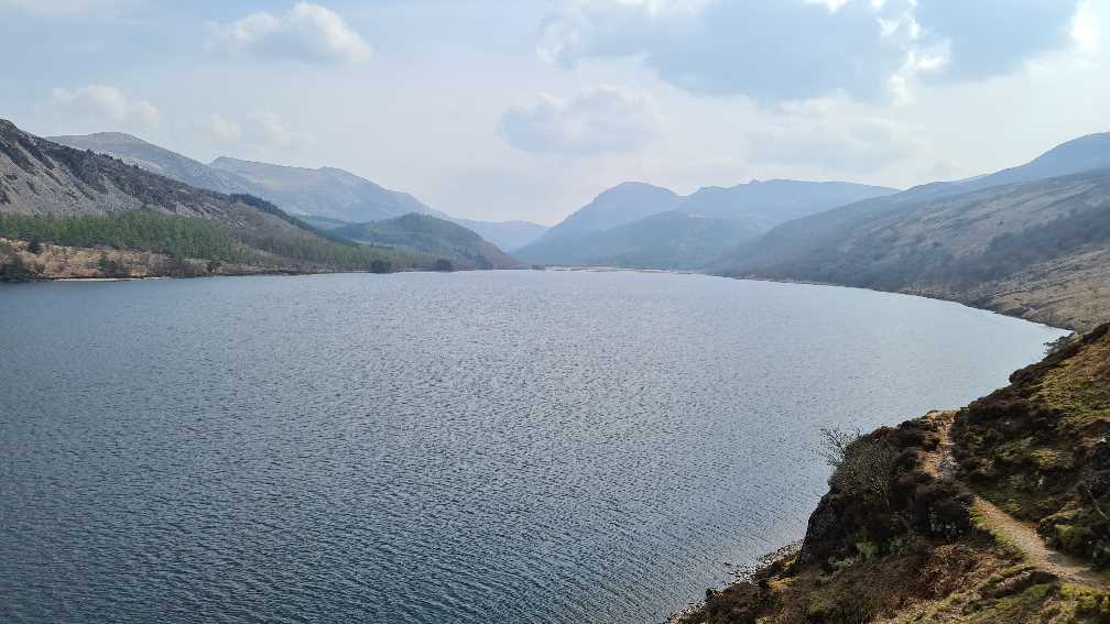 Ennerdale Water and the West Coast of Cumbria