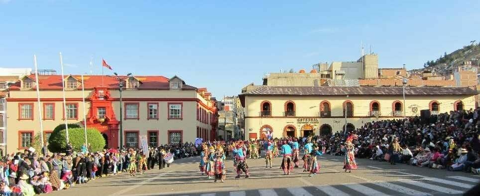Street carnival in Puno
