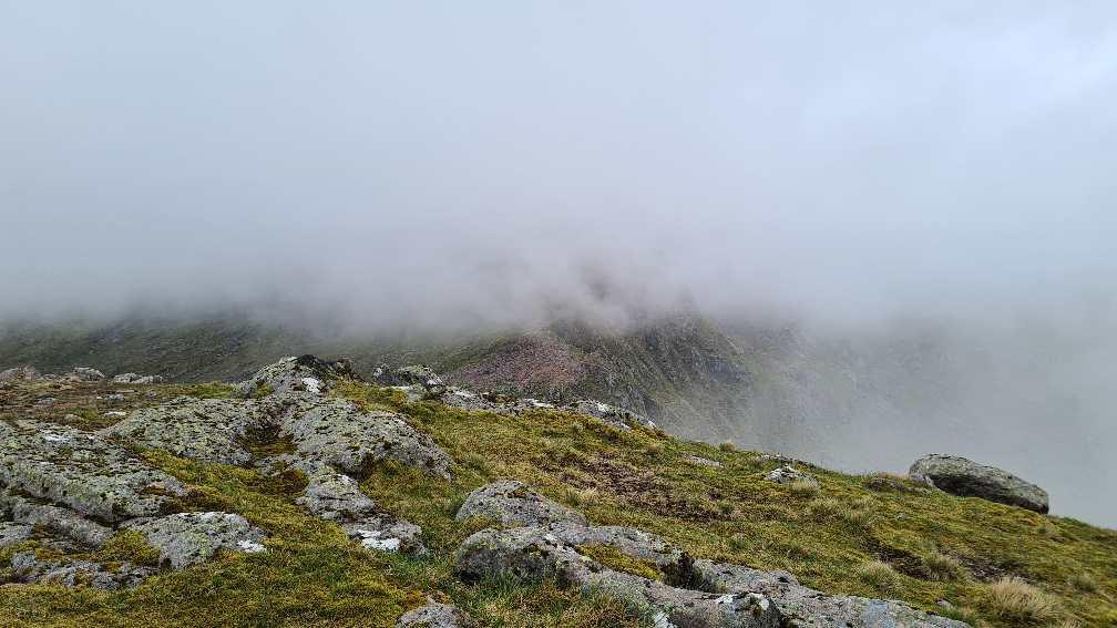Ben Cruachan in cloud