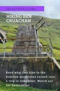 Pin for Ben Cruachan Hike
